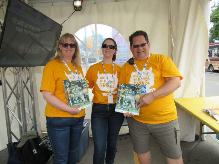 Fringe Theatre Adventures thanks its many amazing volunteers!